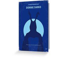 No295 My Donnie Darko minimal movie poster Greeting Card