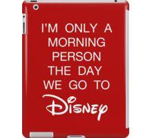 Disney Morning Person iPad Case/Skin