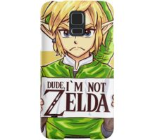 Dude, I'm Not ZELDA! Samsung Galaxy Case/Skin