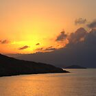Sunrise on Halki by Tom Gomez