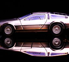 The Delorean by GinasFineArt