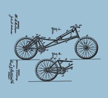 Bike Prone Bicycle 1907 Obree by SportsT-Shirts