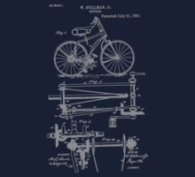 Bike Chainless Drive Bicycle 1891 Stillman T-Shirt