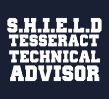 S.H.I.E.L.D Tesseract Technical Advisor by GenialGrouty