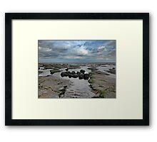 The Water Slips Away Framed Print