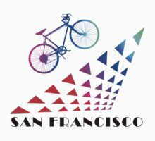 Bike San Francisco by SportsT-Shirts