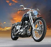 Harley-Davidson Softail Custom by DaveKoontz