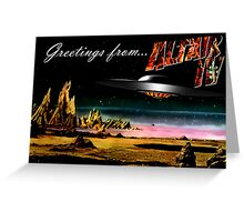 Greetings from Altair IV Greeting Card