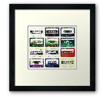Cassettes #3 Framed Print