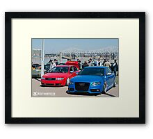 Water by the Bridge 2014 Framed Print