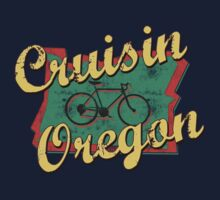 Bike Cycling Cruising Oregon by SportsT-Shirts