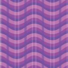 Wavy Plaid (Purple) by makoshark