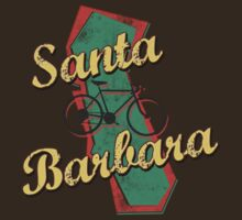 Bike Cycling Bicycle Santa Barbara California by SportsT-Shirts