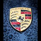 Porsche Badge by Deanna Gardam