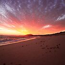 East Mt.Barren Sunset, Hopetoun Western Australia by Ashli Zis