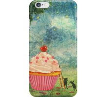 The Mice & The Cupcake iPhone Case/Skin