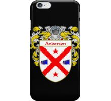 Anderson Coat of Arms/Family Crest iPhone Case/Skin