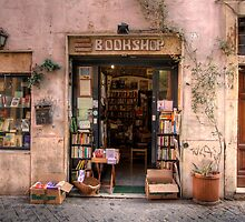 Libreria in Trastevere by ektphotography