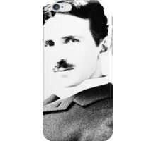 Tesla [B&W] | The Wighte Collection iPhone Case/Skin