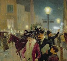 Edwardian London by Bridgeman Art Library
