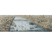 A General View of the City of London and the River Thames Photographic Print