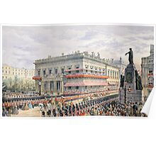 Waterloo Place and Pall Mall Poster
