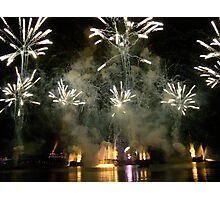 EPCOT FIREWORKS Photographic Print