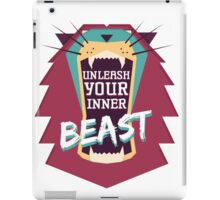 Unleash Your Inner Beast iPad Case/Skin