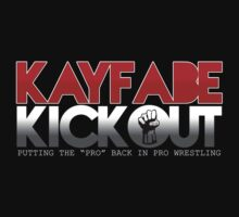 Kayfabe Kickout Groove T-Shirt by KayfabeKickout1