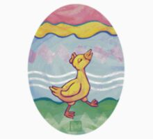 Easter Egg and Duck by Traci VanWagoner