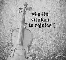 Violin Definition by Kimberose