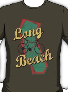 Bike Cycling Bicycle Long Beach California T-Shirt