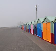 Brighton sea fog by Dcoomber