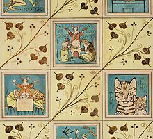Design for nursery wallpaper by Bridgeman Art Library