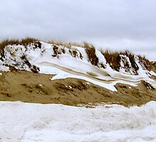 Sand and Snow  by GleaPhotography