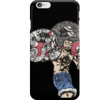 One Piece doodle without background iPhone Case/Skin