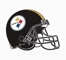 "NFL… Football ""HELMET"" Pittsburgh Steelers by artkrannie"