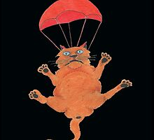 Parachute Cat from Random Acts of Catness by Ann Maree Moore