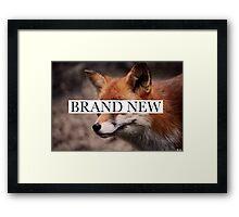 Brand New 1 Framed Print
