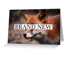 Brand New 1 Greeting Card