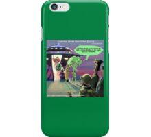 Vegan Space Aliens iPhone Case/Skin