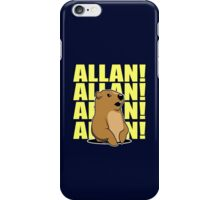 Allan Groundhog iPhone Case/Skin