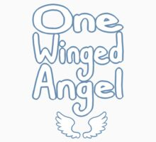 One Winged Angel Comic shirt! by Cookiecutter60