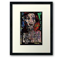 You The Sleeping God Framed Print