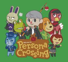 Persona Crossing by echidnite