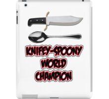 Knifey-Spoony World Champion iPad Case/Skin