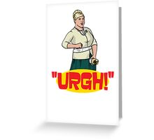 Pam's Sex Burrito Greeting Card