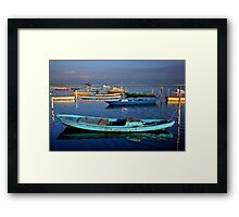 Gaitas in the lagoon of Messolonghi Framed Print