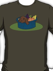 Bunny In A Bucket: Fall T-Shirt