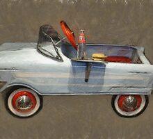 Tee Bird Pedal Car by Michelle Calkins